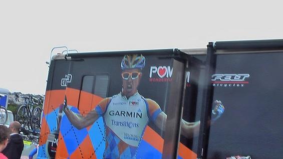 Garmin Slipstream Team Bus - DENNIS BUDD