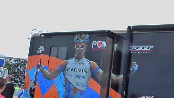Garmin Slipstream Team Bus - DENNIS BUDD