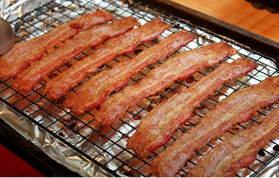 Gather ye bacon while ye may. - FLICKR/DINNER SERIES