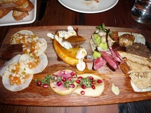 Gather's vegan charcuterie platter. - LEELEE C./YELP