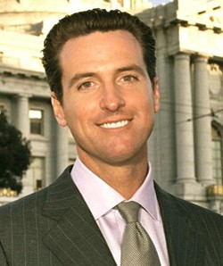 Gavin Newsom is forced to play catch-up...