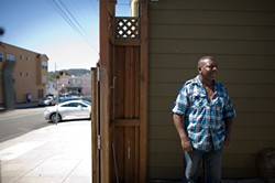 MICHAEL SHORT - Geary Brown, a trucker, saw his monthly mortgage payment shoot up from $1,800 to $2,800 around the time the recession hit. He faces eviction this month.