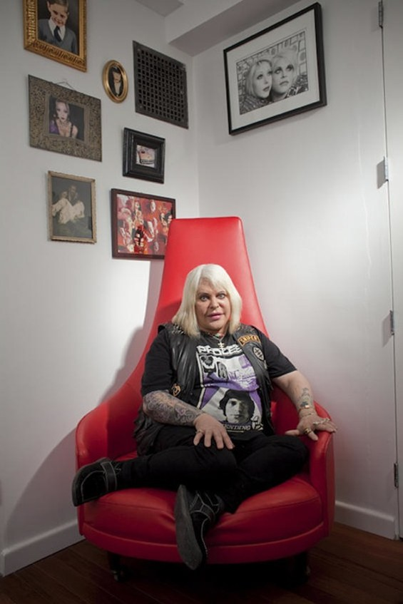 Genesis P-Orridge at home in New York - PAUL QUITORIANO