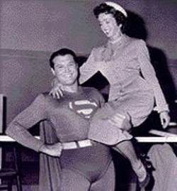 George Reeves (Superman) and - Noel Neill (Lois Lane).