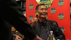 George Takei: Larger than sci-fi.