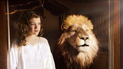 Georgie Henley and Aslan must save the world from malevolent forces.
