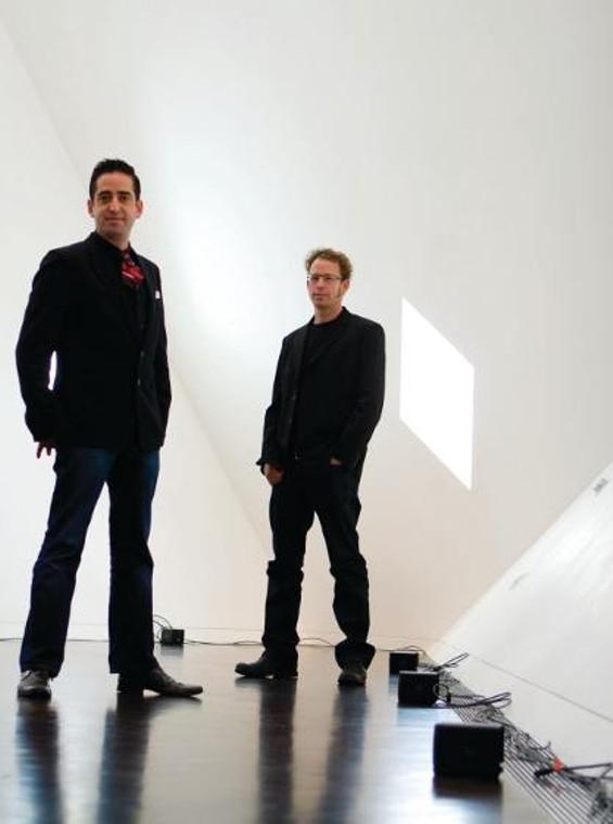 Gershoni (left) and Goldberg
