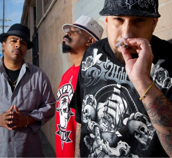 Get high with Cypress Hill at the Warfield tonight. - PHOTO BY JENNE WARREN