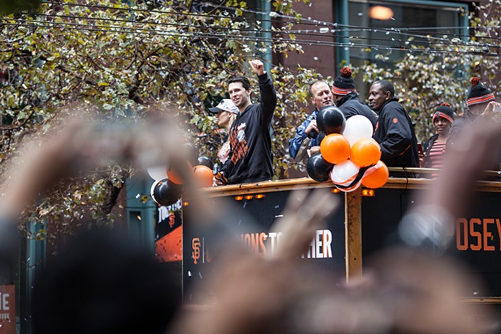 Giants World Series Parade 2014