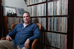 MIKE HENDRICKSON - Gibbs owns about 20,000 records, and plays rock, soul, and even Steely Dan at DJ gigs. Just don't ask him to play Usher.