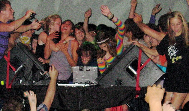 "Girl Talk and Dan Deacon Make Fillmore ""Bounce That'"