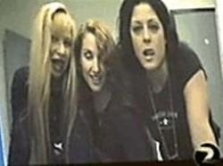 Girls go wild in the cops' new video.