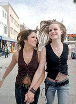 BRANDY EVE ALLEN - Girls Gone Wild: Nikki Reed and - Evan Rachel Wood.