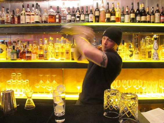 Gitane bar manager Alex Smith. - LOU BUSTAMANTE