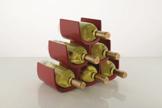 Giulio Iacchetti's Noe wine rack - ALESSI