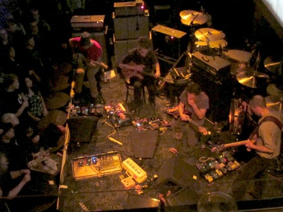 Godspeed You! Black Emperor at Great American Music Hall last night.
