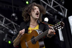 CHRISTOPHER VICTORIO - Gogol Bordello's wild energy stood out on Outside Lands' first day.