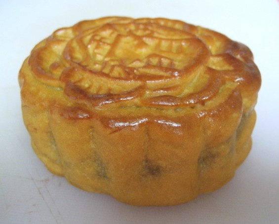 Golden Gate Bakery's mooncake. - JONATHAN KAUFFMAN