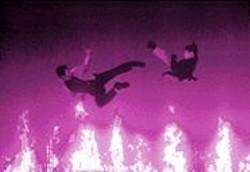 KHAREN  HILL - Gonna Fly Now: Russell Wong and Jet Li battle it out.