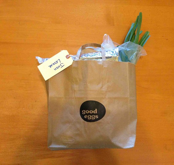 Good Eggs Delivery Bag