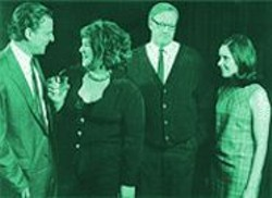 ALICE G. PATTERSON - Good, Good Theater: Paul D'Addario, Catherine Castellanos, Chris Phillips, and Jennifer Welch.