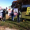 'God Hates Fags' Westboro Baptist Church Brings its Insanity to San Bruno