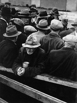 Good news, pal! It could be worse... - DOROTHEA LANGE