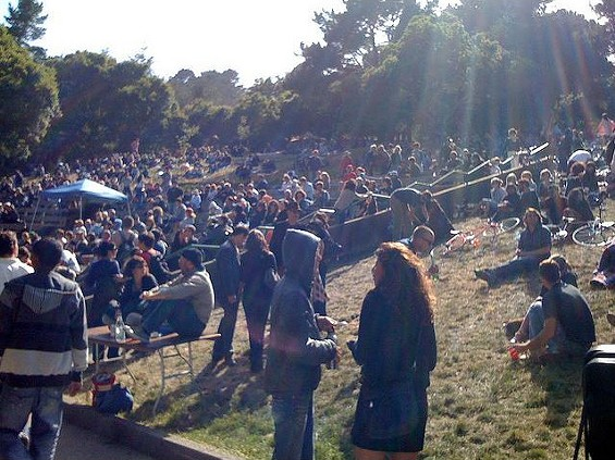Good times at Mission Creek's McLaren Park show. - MISSIONMISSION.ORG