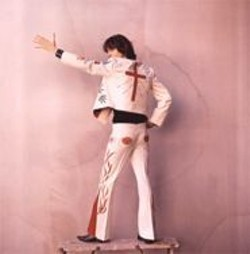 "RAENNE  RUBENSTEIN - Gram Parsons in the ""Nudie Suit."""