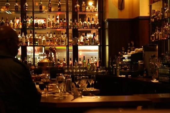 Grand Cafe's rococo art nouveaux surroundings make it an urbane oasis. - MARISA W./YELP