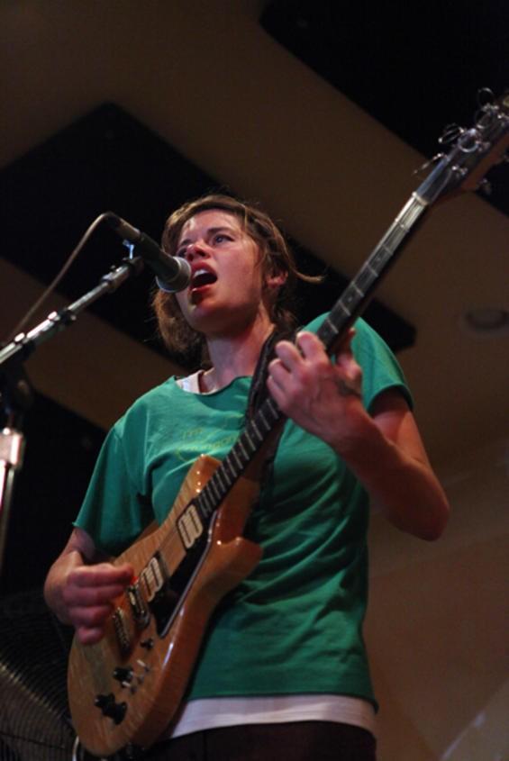 Grass Widow's Raven Mahon at the All Shook Down Musical Festival - JOSEPH SCHELL