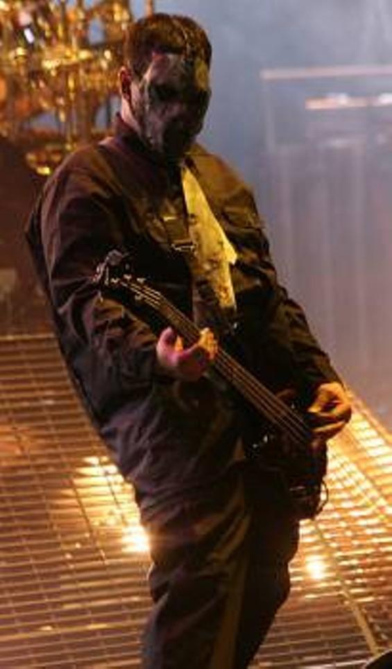 Gray in 2008 at the Mayhem Festival. - GAMERSCORE BLOG