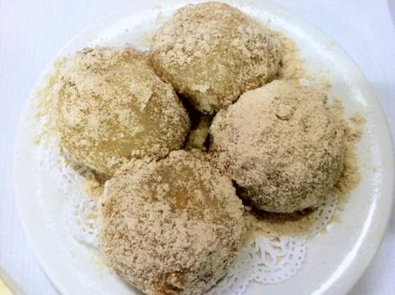 Great Eastern's black sesame dumplings. - JONATHAN KAUFFMAN