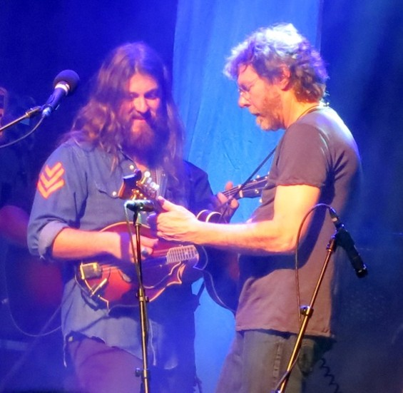 Greensky Bluegrass and Sam Bush at the Fillmore on Friday.