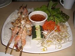 Grilled prawns at PPQ Dungeness Island - <3:NESSA VIA FLICKR