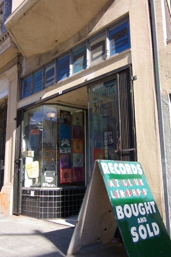 Groove Merchant, on Haight between Pierce and Steiner - IAN S. PORT
