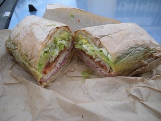Grub Street's giving away a year of sandwiches ― like Ike's Fat Bastard. - MABEL C./YELP