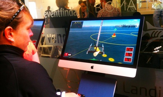 Guardian scribe Amanda Witherell takes on the simulator - JOE ESKENAZI