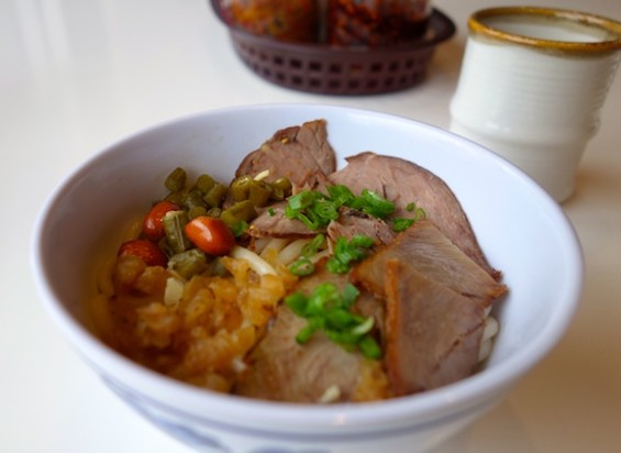 Guilin noodles at Classic Guilin Rice Noodles - FERRON SALNIKER