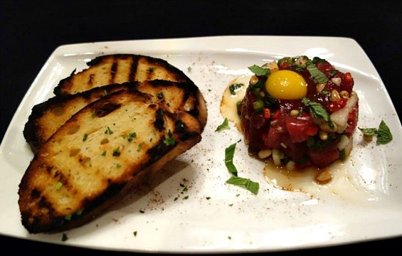 "Gusto's self-described ""timeless"" tuna tartare. - FACEBOOK/GUSTO"