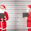 Guy in Santa Suit Robs S.F. Bank During SantaCon