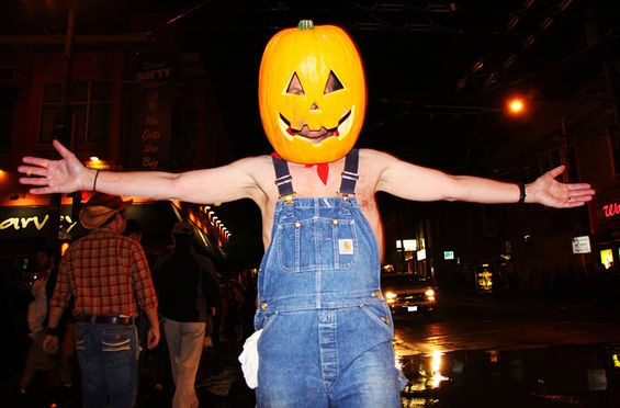 Halloween loves you this much. - HANNA QUEVADO