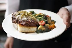 LARA HATA - Hamburg steak: A 19th-century dish reworked with modern ingredients.
