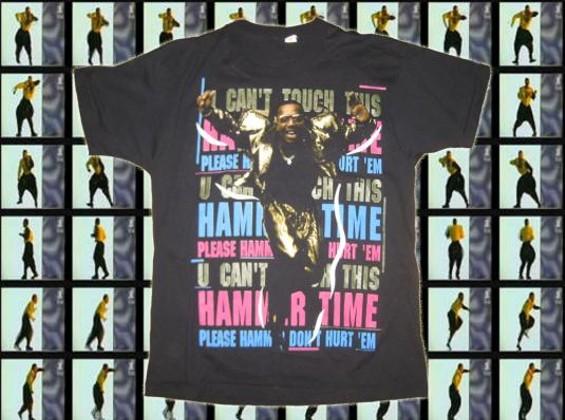 Hammertime shirt by MC Hammer. - DEFUNKT.COM