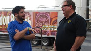 Hanging with Gordon Biersch Brewmaster Dan Gordon - ALYSSA GINANNI
