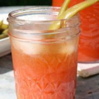 Happy Girl's dry-farmed tomato juice