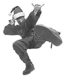 AKIM  AGINSKY - Happy Holidays from Rock Ninja! and the - rest of your friendly neighborhood music - assholes.