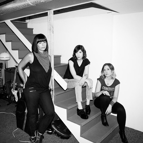Oh, how we've missed you: Sleater-Kinney will play the Masonic May 20. - FACEBOOK