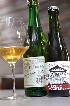 Hard ciders at Abbot's Cellar. - CHRISTIAN ALBERTSON