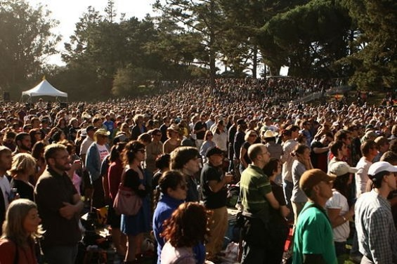 Hardly Strictly is getting pretty big...
